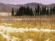 Étude scène d'hiver - 2005